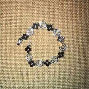 Designer inspired cubic zirconia tennis bracelet